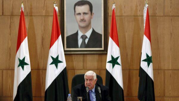 Suriye Dışişleri Bakanı Velid Muallim - Sputnik Türkiye