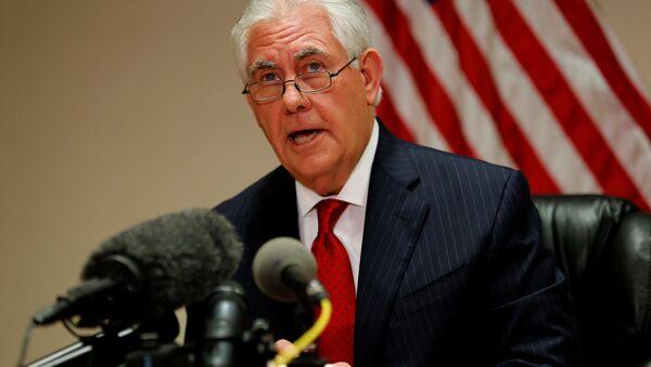 ABD Dışişleri Bakanı Rex Tillerson - Sputnik Türkiye