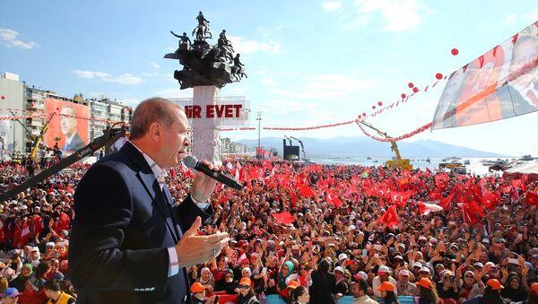 Recep Tayyip Erdoğan  - İzmir - Sputnik Türkiye