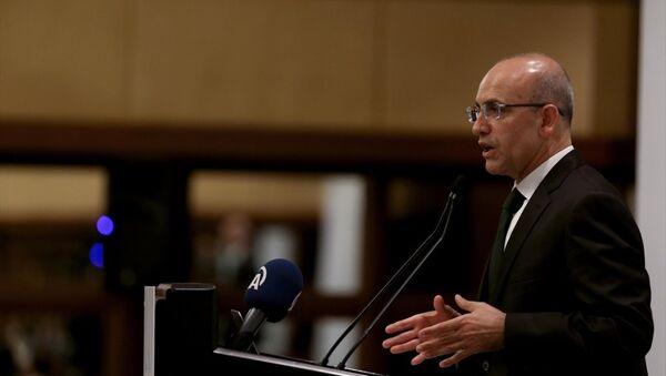 Başbakan Yardımcısı Mehmet Şimşek - Sputnik Türkiye