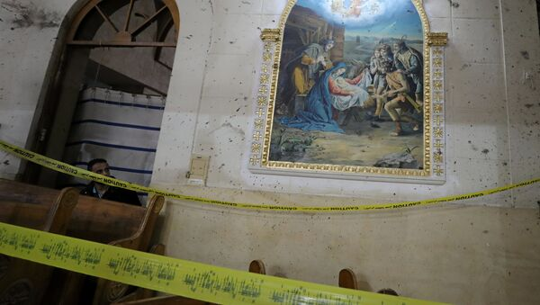 Mısır'ın Tanta kentindeki kilise saldırısı - Sputnik Türkiye