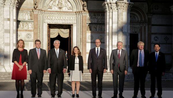 G7 ülkeleri Dışişleri Bakanları - Sputnik Türkiye