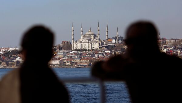 Sultanahmet Camii manzaralı İstanbul - Sputnik Türkiye