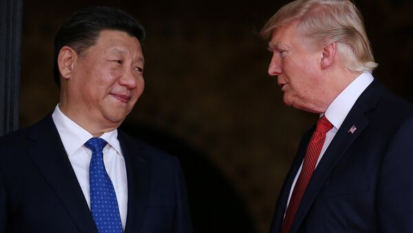 Çin Devlet Başkanı Şi Cinping- ABD Başkanı Donald Trump - Sputnik Türkiye