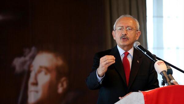 Cumhuriyet Halk Partisi Genel Başkanı Kemal Kılıçdaroğlu - Sputnik Türkiye