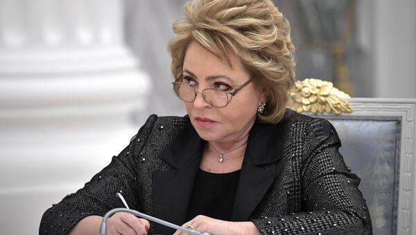 Valentina Matviyenko - Sputnik Türkiye