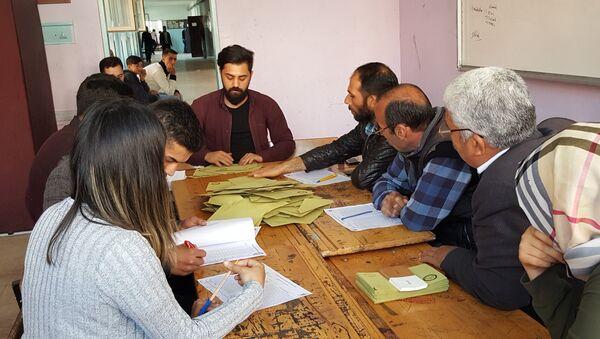 referandum - oy sayımı - Sputnik Türkiye