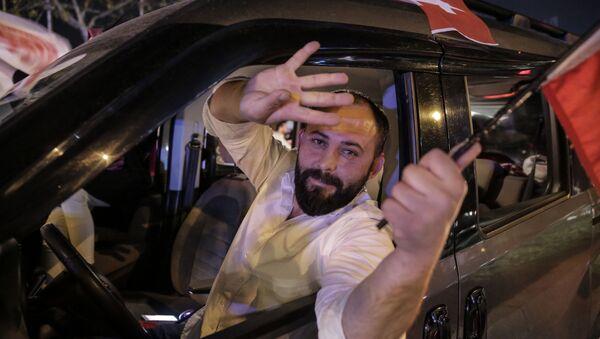 Referandum kutlamalarından kareler - Sputnik Türkiye