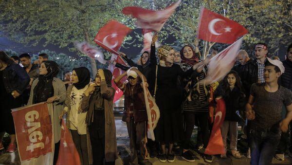 Referandum kutlamaları - Sputnik Türkiye