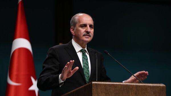 Başbakan Yardımcısı ve Hükümet Sözcüsü Numan Kurtulmuş - Sputnik Türkiye