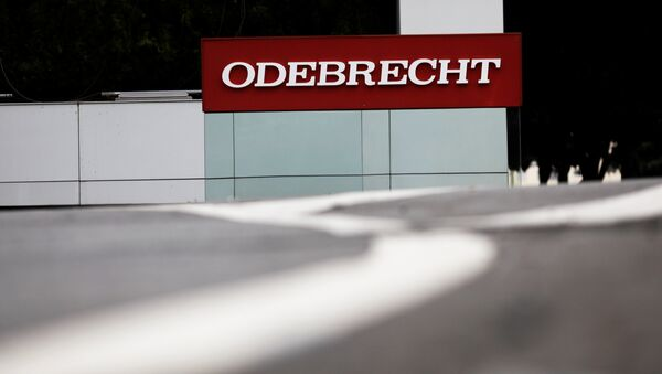 Brezilya'nın en büyük inşaat şirketi Odebrecht - Sputnik Türkiye