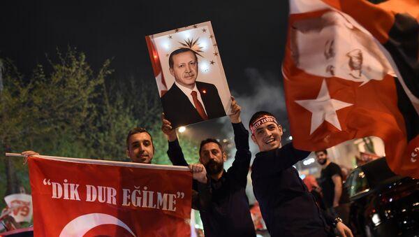 Anayasa değişikliği referandumu kutlamaları - Sputnik Türkiye