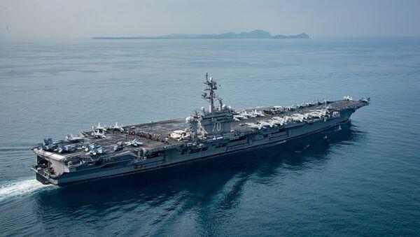 ABD uçak gemisi USS Carl Vinson - Sputnik Türkiye