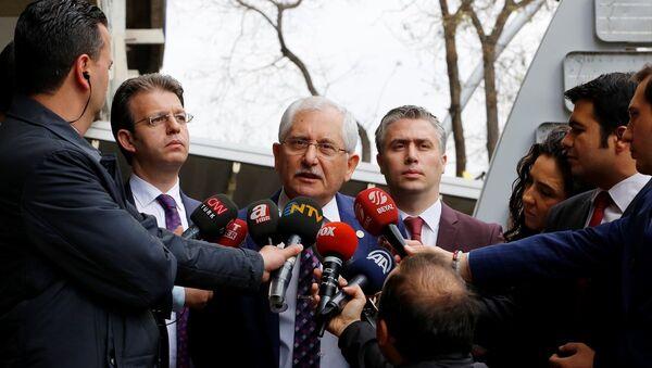 Yüksek Seçim Kurulu Başkanı (YSK) Sadi Güven - Sputnik Türkiye