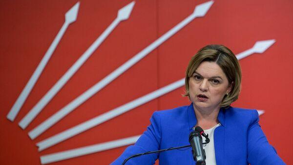 CHP Genel Başkan Yardımcısı ve parti sözcüsü Selin Sayek Böke - Sputnik Türkiye