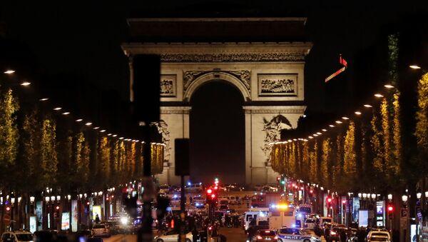 Paris'te saldırı - Sputnik Türkiye