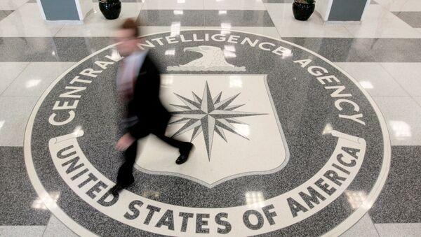 The lobby of the CIA Headquarters Building is pictured in Langley, Virginia, U.S. - Sputnik Türkiye