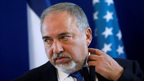 Avigdor Lieberman - Sputnik Türkiye