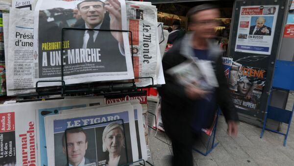 Fransa cumhurbaşkanlığı seçimleri - Sputnik Türkiye