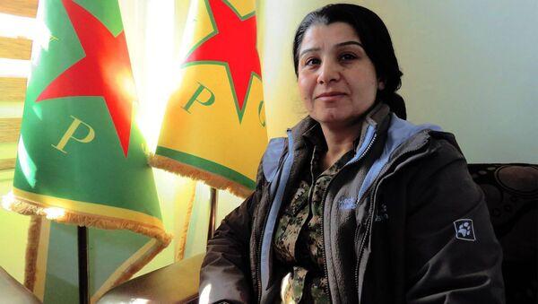 YPG/YPJ Sözcüsü Nesrin Ebdullah - Sputnik Türkiye