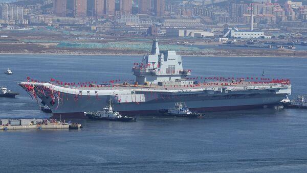Çin'in ilk yerli uçak gemisi 'Type 001A' - Sputnik Türkiye