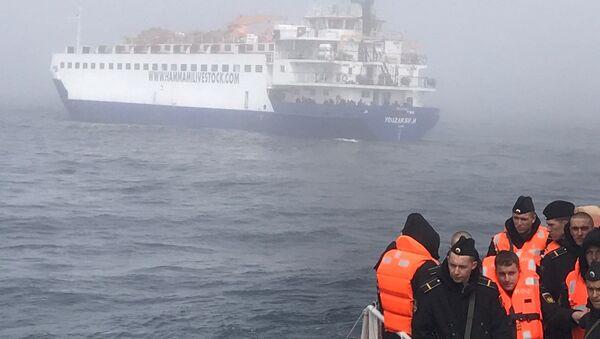Kilyon açıklarında batan Rus savaş gemisi Liman'ın mürettebatı - Sputnik Türkiye