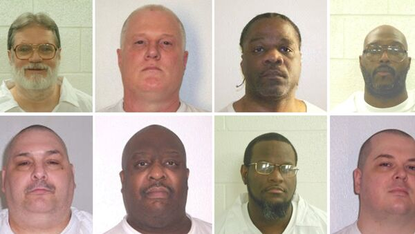 Arkansas'ta idam edileceği açıklanan 8 mahkum - Sputnik Türkiye