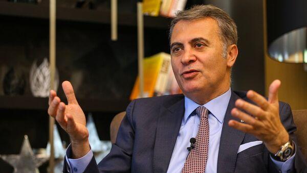 Beşiktaş Kulübü Başkanı Fikret Orman - Sputnik Türkiye