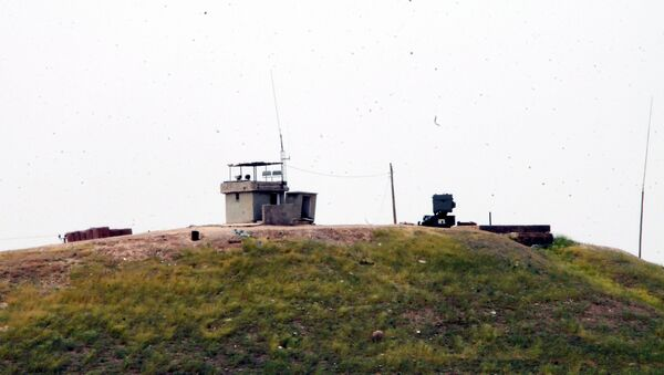 Türkiye-Suriye sınırında TSK noktası - Sputnik Türkiye