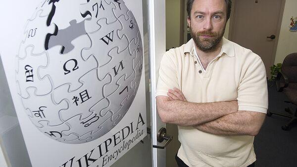 Wikipedia kurucusu Jimmy Wales - Sputnik Türkiye