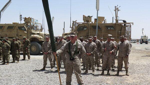 Afganistan'ın Helmand vilayetindeki ABD askerleri - Sputnik Türkiye