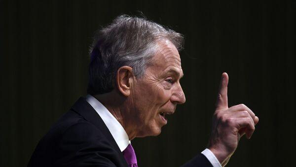 Tony Blair - Sputnik Türkiye