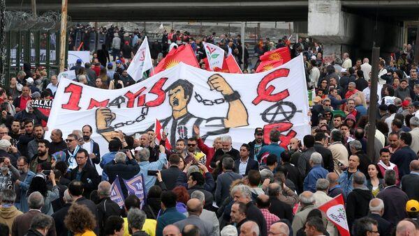 İstanbul'da 1 Mayıs'ın adresi Bakırköy'dü - Sputnik Türkiye