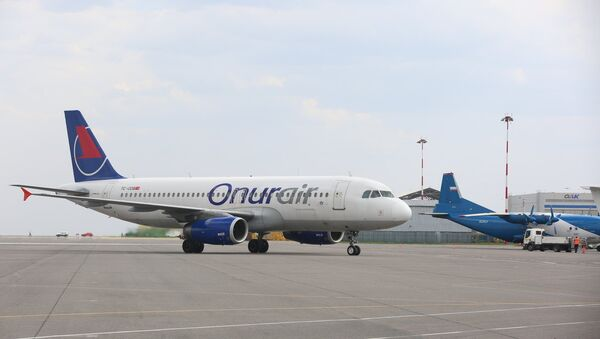 Onur Air uçağı - Sputnik Türkiye
