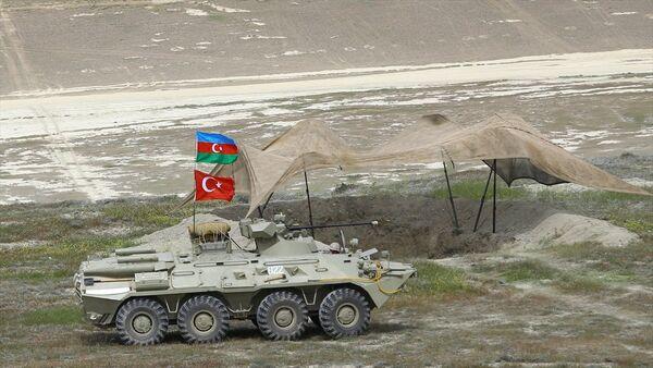 Türkiye ve Azerbaycan'dan ortak tatbikat - Sputnik Türkiye