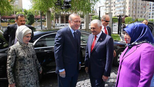 Cumhurbaşkanı Recep Tayyip Erdoğan ve Başbakan Binali Yıldırım - Sputnik Türkiye