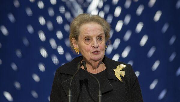 Former Secretary of State Madeleine Albright  (File) - Sputnik Türkiye