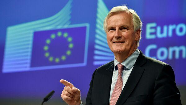 Avrupa Birliği'nin Brexit Başmüzakerecisi Michel Barnier - Sputnik Türkiye