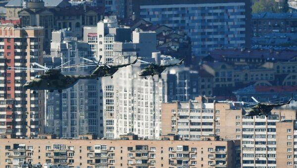 Mi-26 ağır nakliye helikopteri. - Sputnik Türkiye