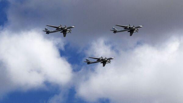 Tu-95MS stratejik bombardıman uçakları. - Sputnik Türkiye