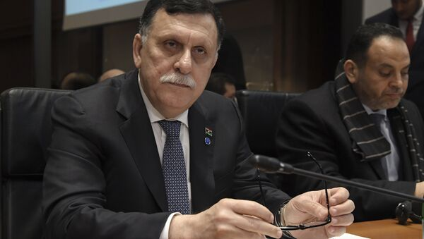 Libya Ulusal Uzlaşı Hükümeti lideri Fayiz es-Serrac - Sputnik Türkiye
