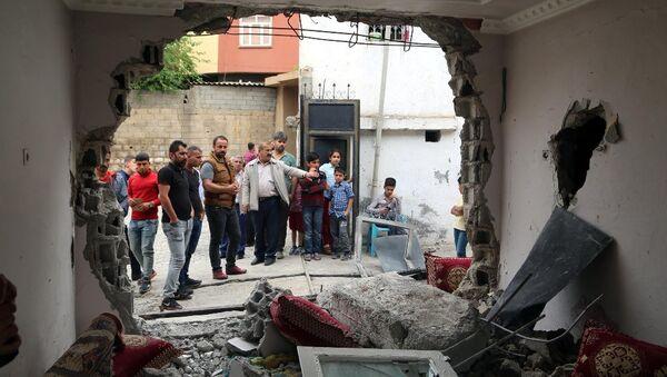 Silopi'de polis panzeri eve çarptı: 2 çocuk öldü - Sputnik Türkiye
