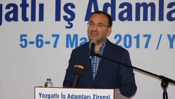Adalet Bakanı Bekir Bozdağ - Sputnik Türkiye