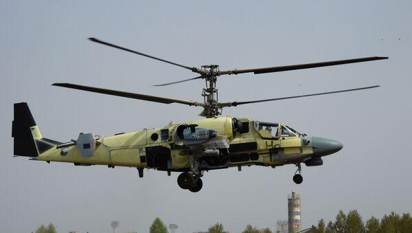 Ka-50 Siyah Köpekbalığı modelinin geliştirilmiş bir modifikasyonudur. - Sputnik Türkiye