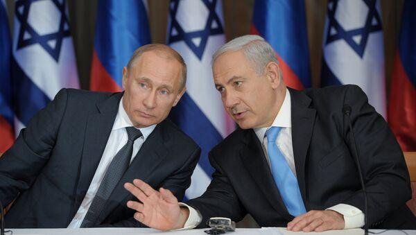 Vladimir Putin - Benyamin Netanyahu - Sputnik Türkiye