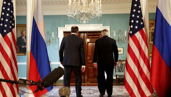 Rusya Dışişleri Bakanı Sergey Lavrov- ABD Dışişleri Bakanı Rex Tillerson - Sputnik Türkiye