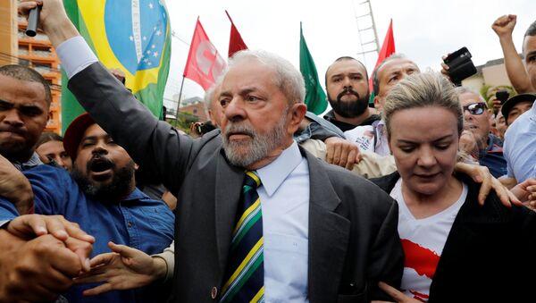 Brezilya eski Devlet Başkanı Lula da Silva - Sputnik Türkiye