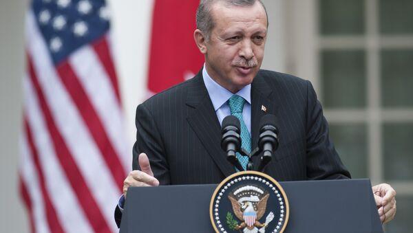 Cumhurbaşkanı Recep Tayyip Erdoğan / Beyaz Saray - Sputnik Türkiye