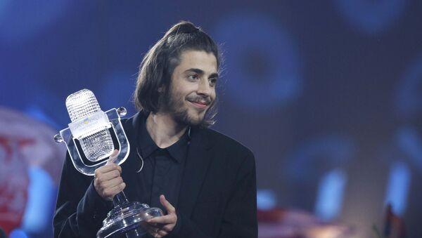 Eurovision 2017 / Portekiz temsilcisi Salvador Sobral - Sputnik Türkiye