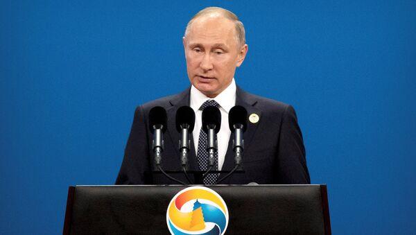 Vladimir Putin / Kuşak ve Yol Forumu - Sputnik Türkiye
